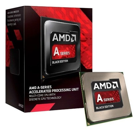 PROCESSADOR AMD FM2+ A6 7400K 3.9 GHZ AD740KYBJABOX C/ VÍDEO INTEGRADO RADEON R5
