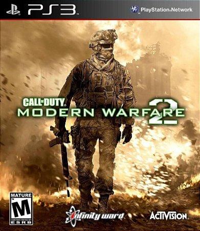 CALL OF DUTY MODERN WARFARE 2 PS3 NOVO LACRADO