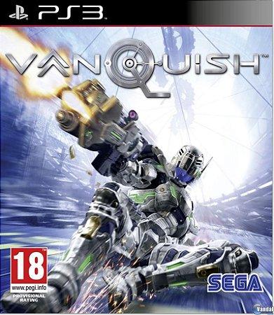 VANQUISH PS3 NOVO LACRADO