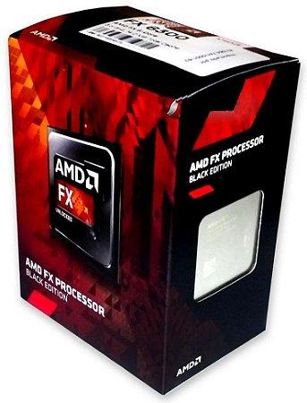 PROCESSADOR AMD AM3+ 6 NÚCLEOS FX 6300 3.5 GHZ BLACK EDITION FD6300WMHKBOX