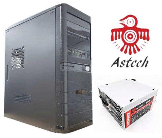 GABINETE PRA COMPUTADOR COM FONTE 300W ASTECH 2311805