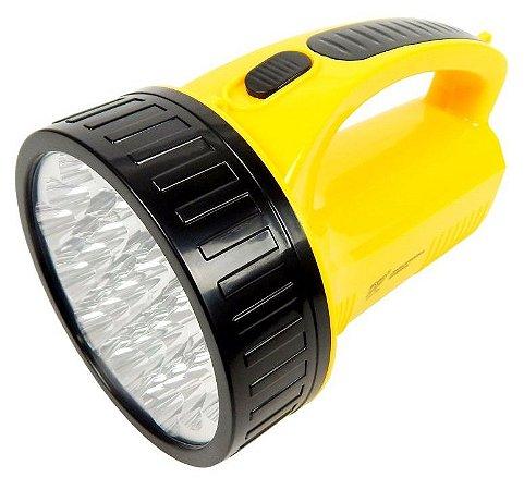 LANTERNA RECARREGÁVEL DP.LED LIGHT DP-1706 19 LEDS BIVOLT