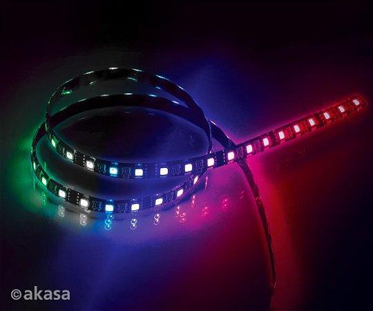 FITA DE LED RGB P/ GABINETE 50CM MAGNÉTICA AKASA VEGAS MBW AK-LD06-50RB