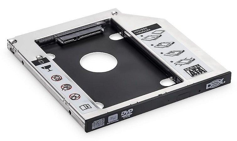 ADAPTADOR DE HD SSD PARA GRAVADORA DE NOTEBOOK DEX AD-1095