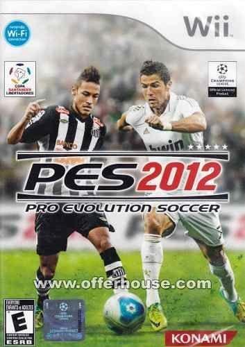 Jogo Pro Evolution Soccer 2012 Wii Novo Lacrado