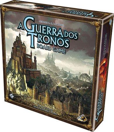 A GUERRA DOS TRONOS BOARD GAME 2º EDIÇÃO GALÁPAGOS JOGO DE TABULEIRO