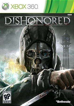 DISHONORED COM DLC XBOX 360 NOVO LACRADO