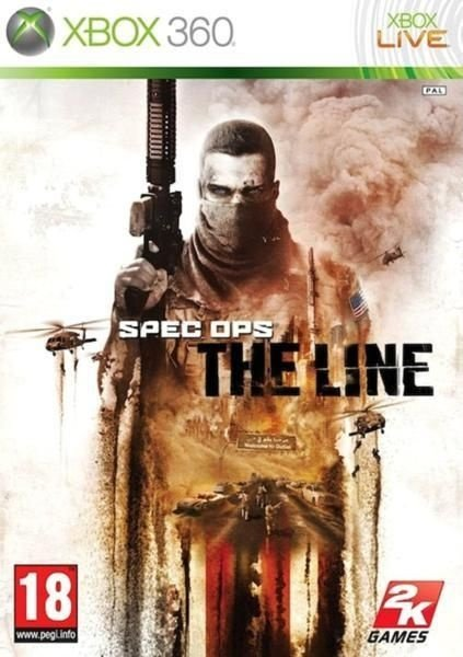 SPEC OPS THE LINE PREMUIM EDITION XBOX 360 NOVO LACRADO