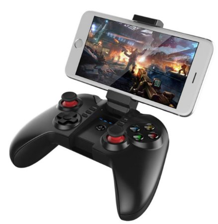 CONTROLE BLUETOOTH IPEGA TOMAHAWK 9068 ANDROID IOS PC NOTE CELULAR SMART TV