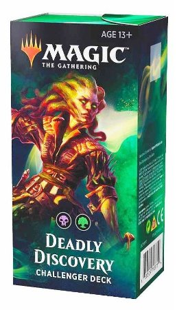 MAGIC THE GATHERING CHALLENGER DECK 2019 DEADLY DISCOVERY INGLÊS