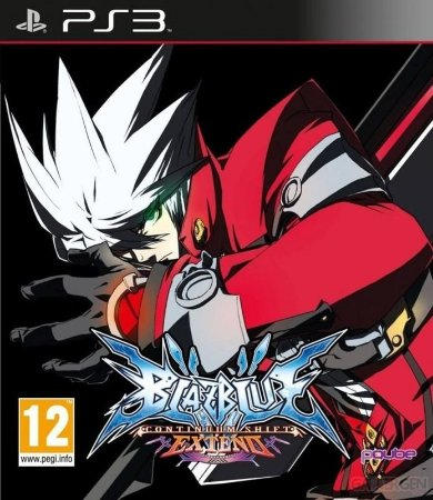 BLAZBLUE CONTINUUM SHIFT EXTEND PS3 NOVO LACRADO