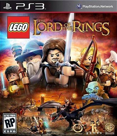 LEGO SENHOR DOS ANÉIS PS3 LEGENDADO NOVO LACRADO