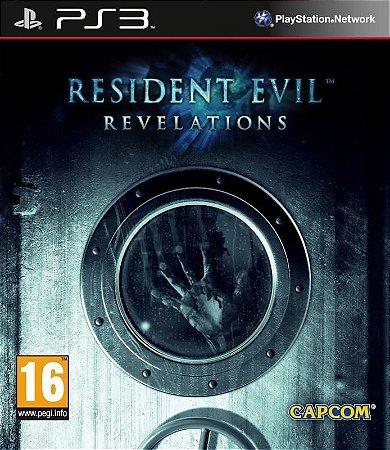 RESIDENT EVIL REVELATIONS PS3 NOVO LACRADO LEGENDADO