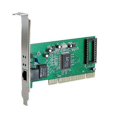 PLACA DE REDE PCI 10/100/1000 VINIK PRV-1000 NOVO