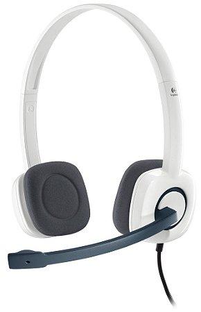 FONE HEADSET STEREO LOGITECH H150 PC P2 3.5MM C MICROFONE GIRATÓRIO NOVO LACRADO