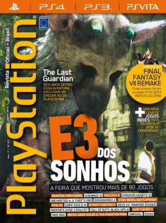 THE LAST GUARDIAN PLAYSTATION REVISTA OFICIAL BRASIL 207