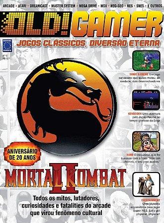 MORTAL KOMBAT II REVISTA OLD!GAMER OLD GAMER 15