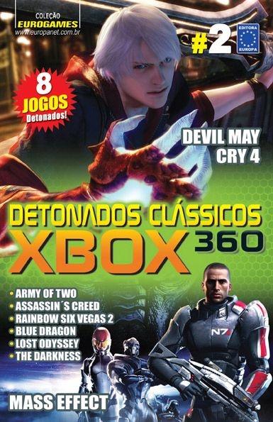 DETONADOS CLÁSSICOS XBOX 360 EDIÇÃO 2 NOVO LACRADO