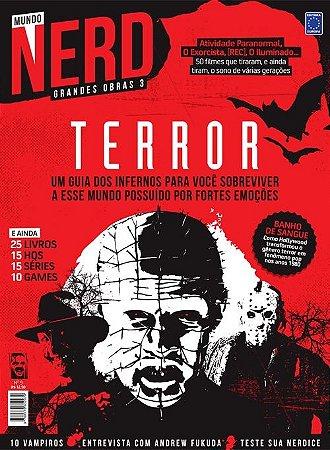 ESPECIAL TERROR REVISTA MUNDO NERD GRANDES OBRAS 3 EDIÇÃO 9