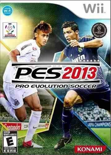 Pro Evolution Soccer 2013 Wii Novo Lacrado