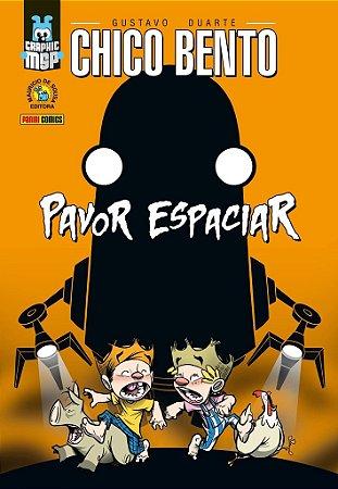CHICO BENTO PAVOR ESPACIAR PANINI CAPA DURA QUADRINHOS HQ LACRADO