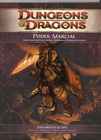 LIVRO RPG DUNGEONS & DRAGONS PODER MARCIAL DEVIR NOVO