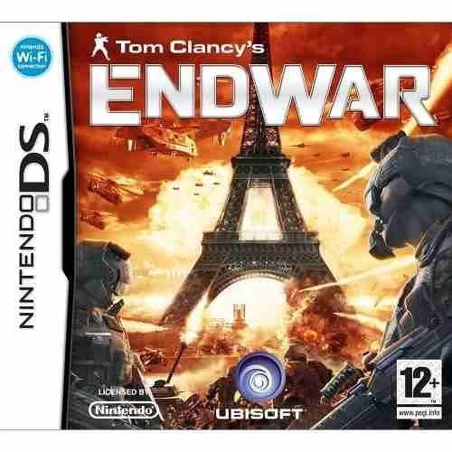 Jogo Tom Clancy's Endwar Nintendo Ds Novo Lacrado