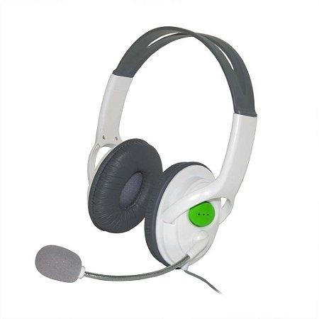FONE DE OUVIDO HEADSET COM MICROFONE PARA XBOX 360 NOVO