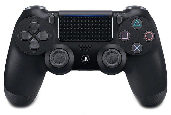 CONTROLE PS4 PLAYSTATION 4 SONY ORIGINAL SEM FIO DUALSHOCK 4 CUH-ZCT2U PRETO