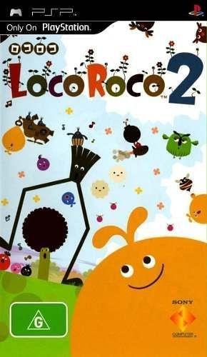 Jogo Locoroco 2 Psp Novo Lacrado