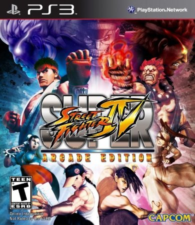 SUPER STREET FIGHTER 4 ARCADE EDITION PS3 NOVO LACRADO