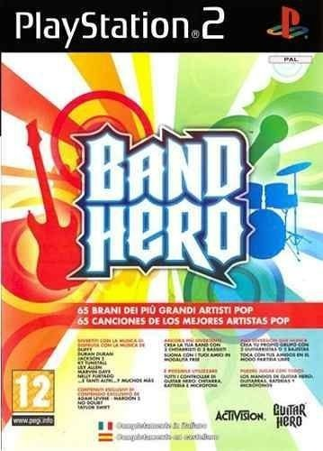 Jogo Band Hero Ps2 Novo Lacrado