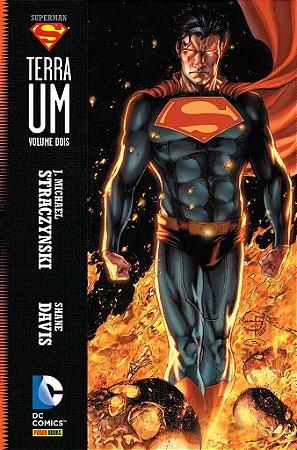 SUPERMAN TERRA UM VOLUME 2 EDIT PANINI CAPA DURA LACRADO