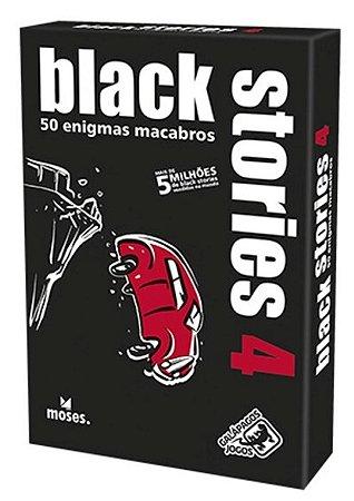 BLACK STORIES 4 JOGO DE CARTAS COM ENIGMAS LACRADO