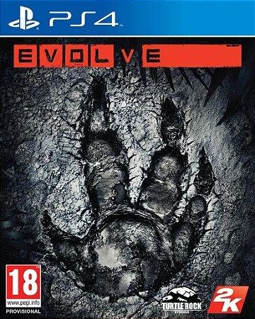 EVOLVE PS4 EM PORTUGUES NOVO LACRADO