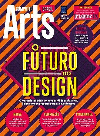 FUTURO DO DESIGN REVISTA COMPUTER ARTS EDIÇÃO 93 LACRADO