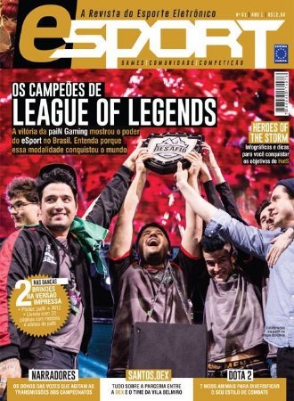 OS CAMPEÕES DE LEAGUE OF LEGENDS REVISTA E-SPORT ESPORT 1