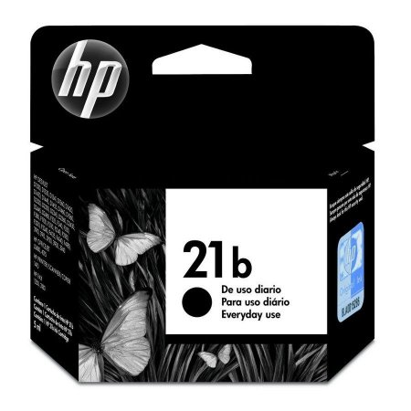 CARTUCHO DE TINTA HP 21B PRETO 7 ML C9351BB ORIGINAL LACRADO