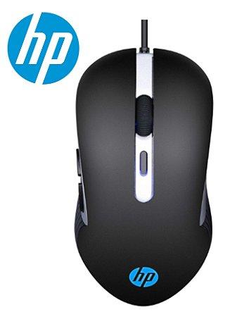 MOUSE GAMER HP G210 3.200 DPI LED 4 CORES SENSOR SPCP A704E 6 BOTÕES AMBIDESTRO