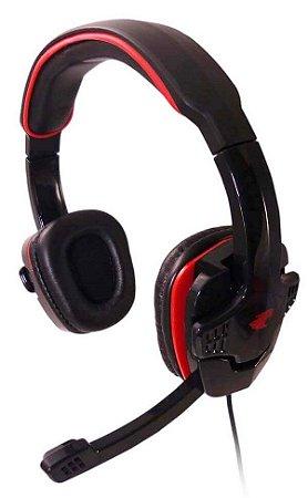 FONE DE OUVIDO HEADSET GAMER G-FIRE EPH501EGSB C/ MICROFONE P2 PC NOTE