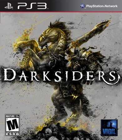 DARKSIDERS PS3 NOVO LACRADO