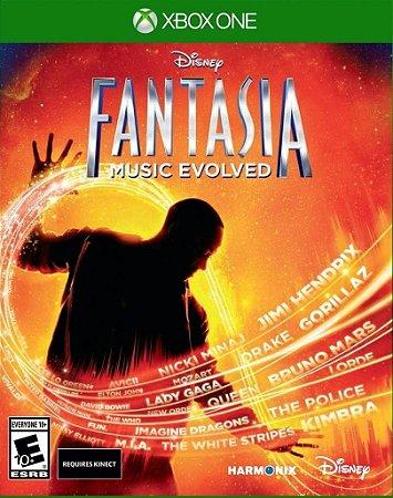 DISNEY FANTASIA MUSIC EVOLVED XBOX ONE NOVO LACRADO