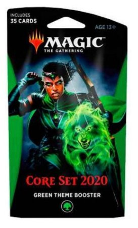 MAGIC THE GATHERING BOOSTER ESPECIAL CORE SET 2020 TEMA VERDE EM INGLÊS