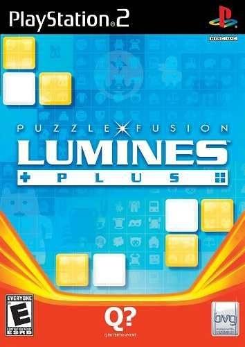 Jogo Lumines Puzzle Fusion Ps2 Novo Lacrado