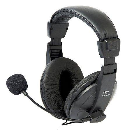 FONE COM MICROFONE PC NOTEBOOK VOICER COMFORT C3TECH PH-60BK