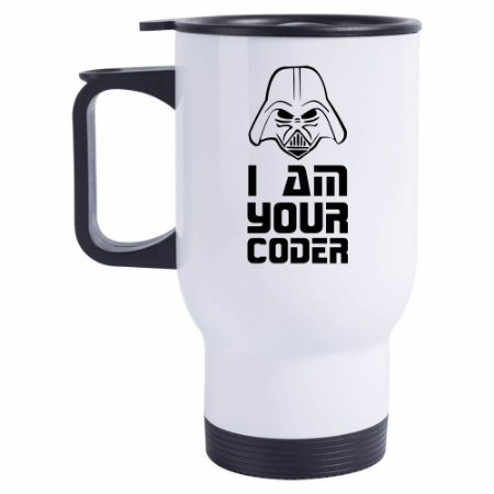 Caneca Térmica I Am Your Coder