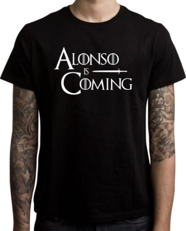 Camiseta Alonso is Coming