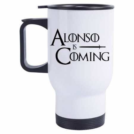 Caneca Térmica Alonso is Coming