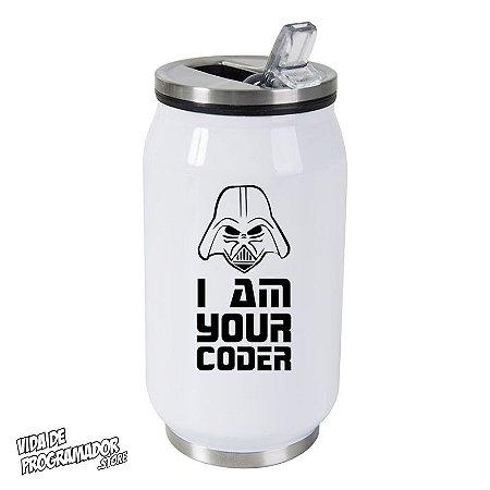 Copo Térmico I Am Yout Coder