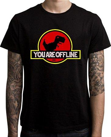 Lançamento - Camiseta You Are Offline